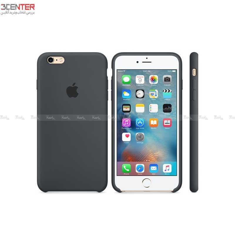 Apple Silicone Cover For iPhone 6 Plus/6s Plus-تصویر اصلی