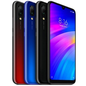 Xiaomi Redmi 7 M1810F6L Dual SIM 32GB Mobile Phone-Blue-تصویر 3