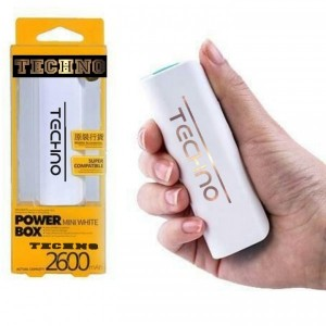 پاوربانک power bank تکنو 2600 آمپر