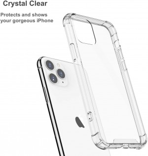 کاور کریستال Crystal Shell Case Iphone 11Pro Max
