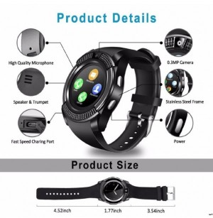 smart watchmodel: v۸-تصویر 2
