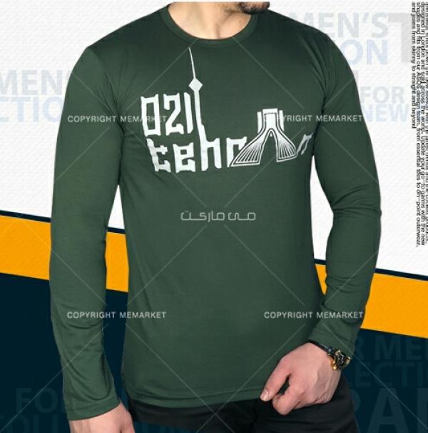 تیشرت مردانه طرح تهران سبز-تصویر اصلی