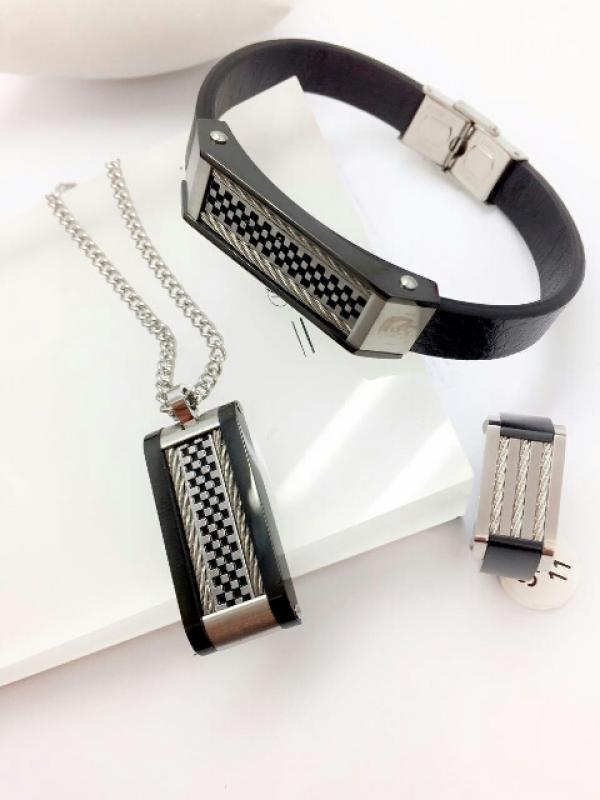 ست گردنبند و دستبند و انگشتر-تصویر اصلی