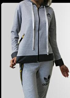 سوییشرت و شلوار دخترانه adidas-تصویر اصلی