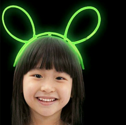 تل مو سر بچه گانه نورانی طرح خرگوش-تصویر اصلی
