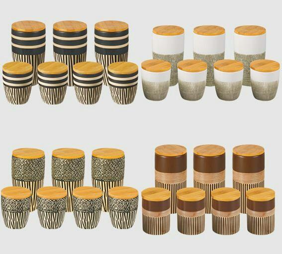 ادویه و پاسماوری 7 پارچه بامبو یونیک کد : 1680-تصویر اصلی