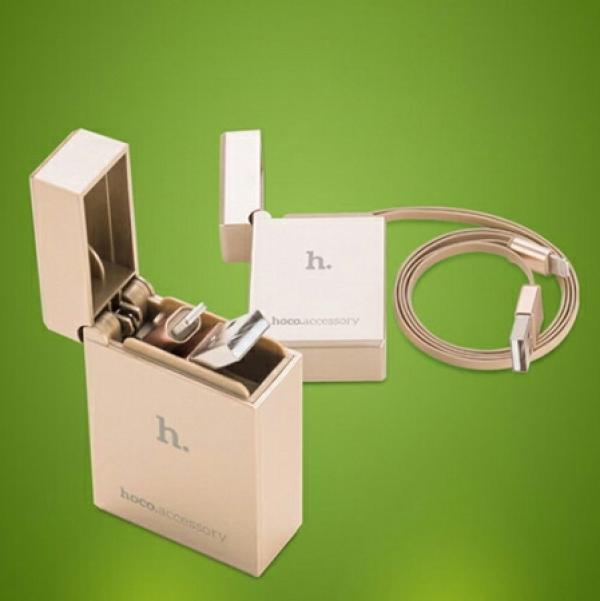 کابل طرح فندک Hoco Lightning Cable-تصویر اصلی