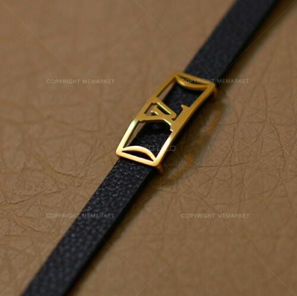 دستبند چرم طرح LV-تصویر اصلی