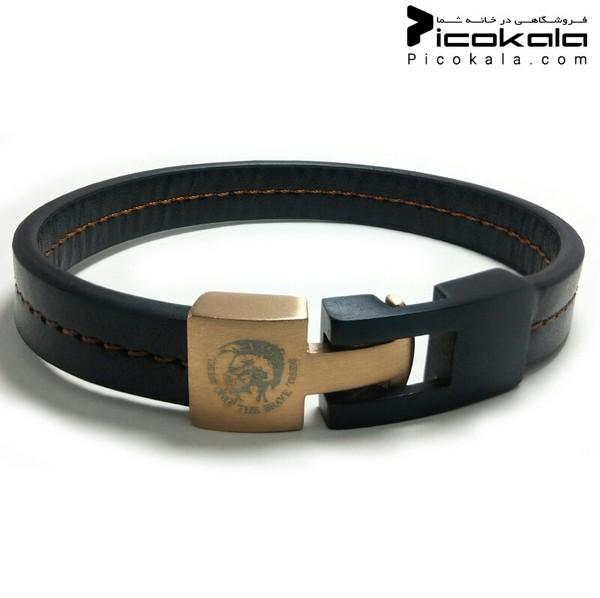دستبند چرمی طرح دیزل-تصویر اصلی