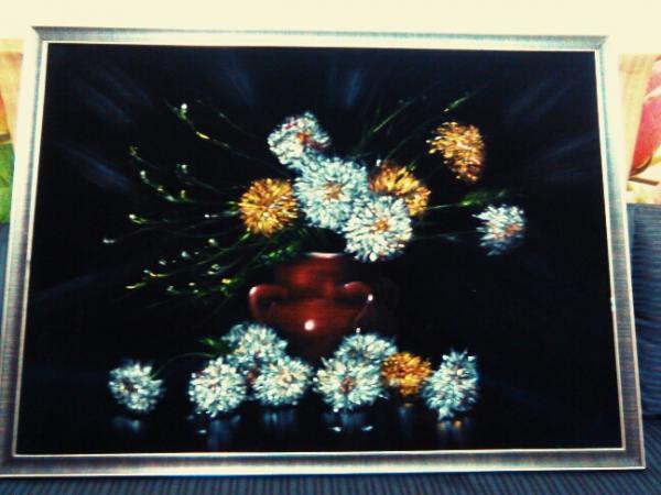 تابلو رنگ روغن مخمل-تصویر اصلی