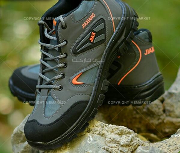 کفش مردانه طوسی JIAX-تصویر اصلی