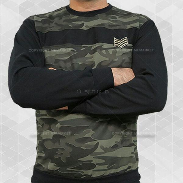 تی شرت مردانه طرح چریکی (سبز)-تصویر اصلی