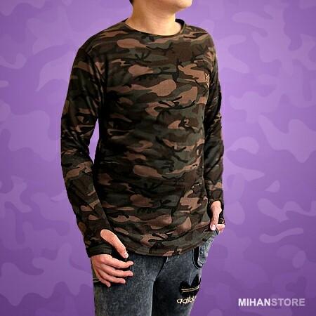 بلوز مردانه طرح ارتشی-تصویر اصلی