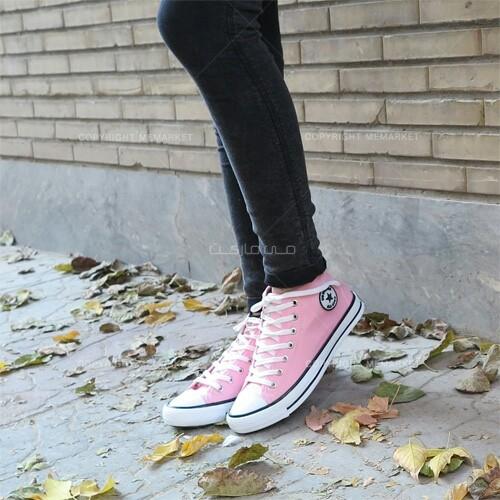 كفش دخترانه Converse (صورتی)-تصویر اصلی