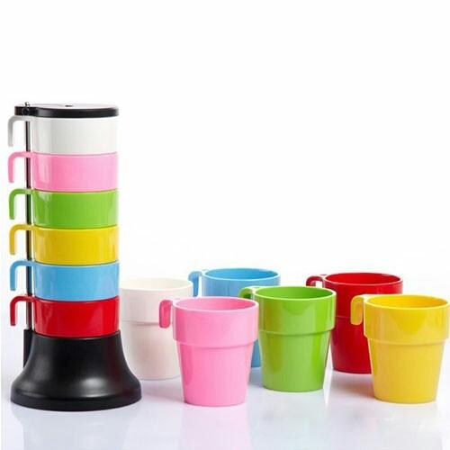 ست لیوان های رنگی-تصویر اصلی