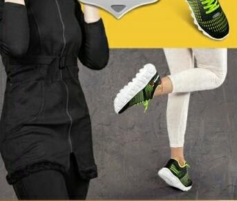 پکیج مانتو و کفش اسپرت-تصویر اصلی
