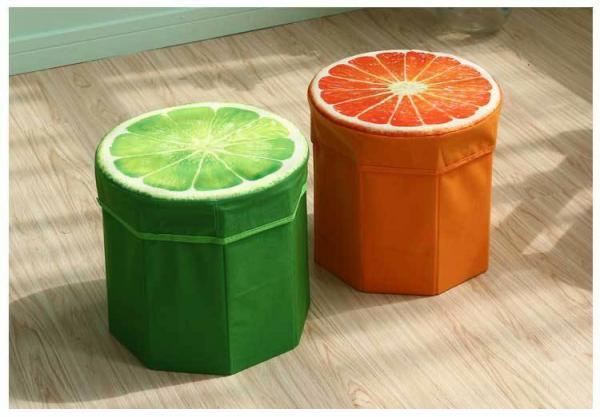 صندلی جمع شونده سه بعدی طرح میوه-تصویر اصلی