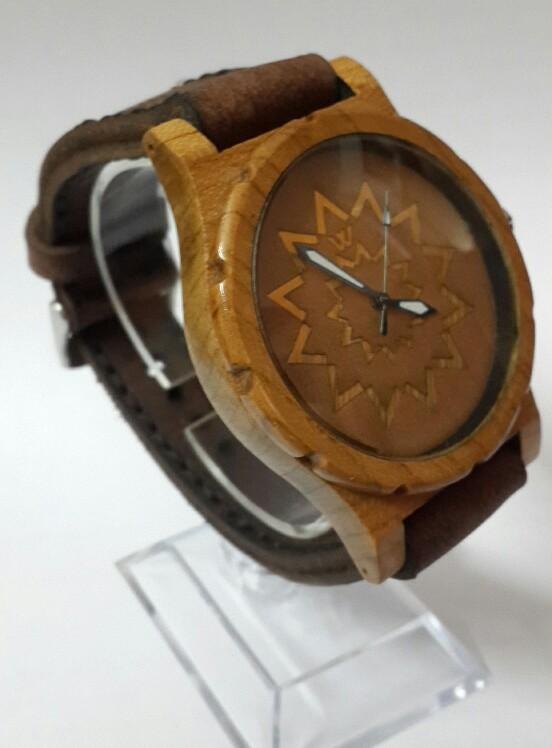 ساعت مچی چوبی-تصویر اصلی