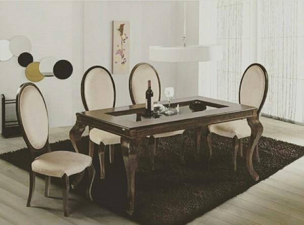 میز نهار خوری مدل یاس-تصویر اصلی