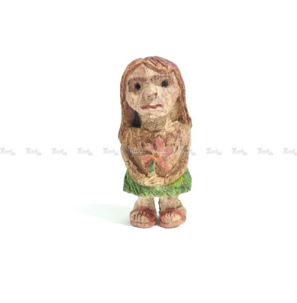آدمک چوبی ، مجسمه چوبی ، دختر چوبی ، دخترک چوبی-تصویر اصلی