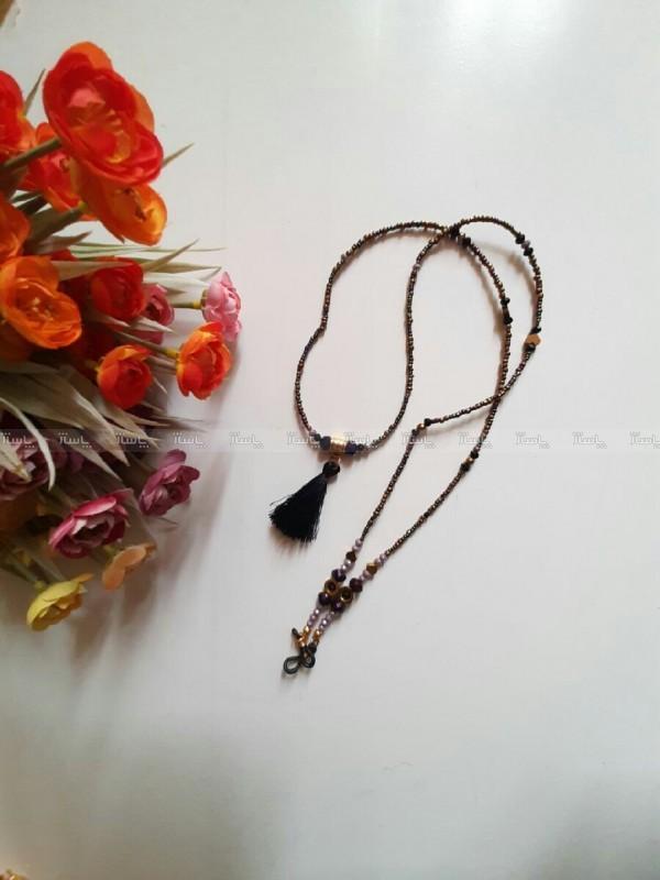 بند عینک بادمجانی ولنتاین با ارسال رایگان-تصویر اصلی