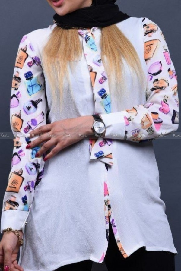 لباس بلند طرح  کرواتی ارزو-تصویر اصلی