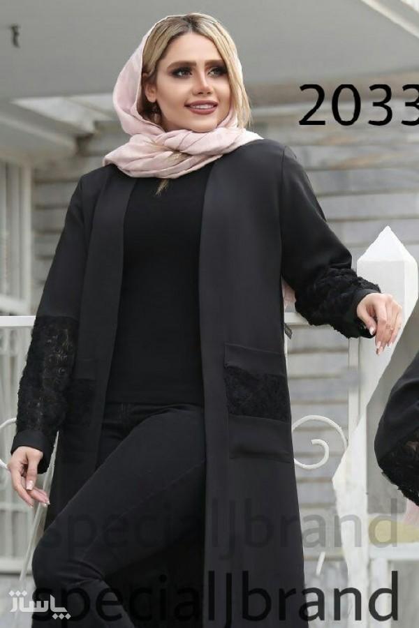 مانتو جیبدار شکوفه-تصویر اصلی