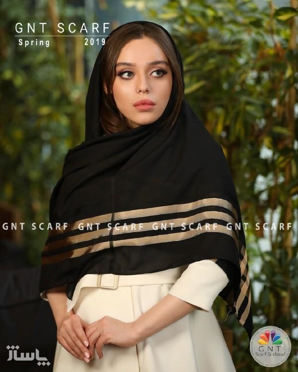 روسری مشکی-تصویر اصلی
