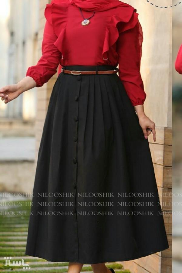 ست بلوز دامن مدل بهاران-تصویر اصلی
