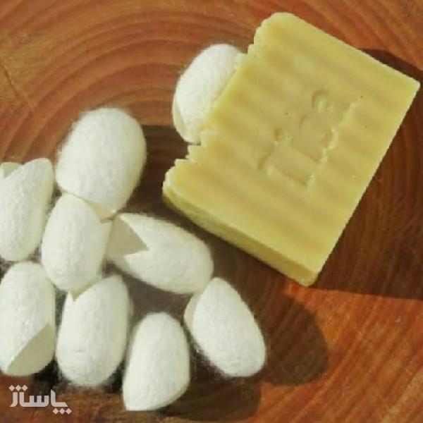 صابون پیله ابریشم-تصویر اصلی