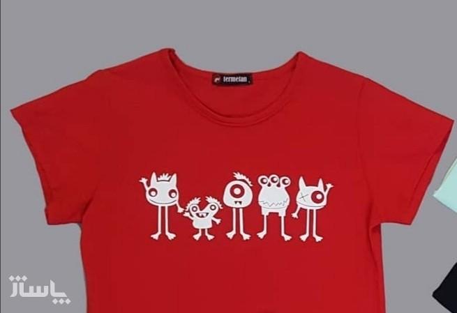 تی شرت هیولا-تصویر اصلی