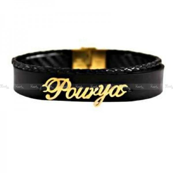 دستبند پوریا ( ۴۵۰ سوت ) طلا ۱۸ عیار-تصویر اصلی