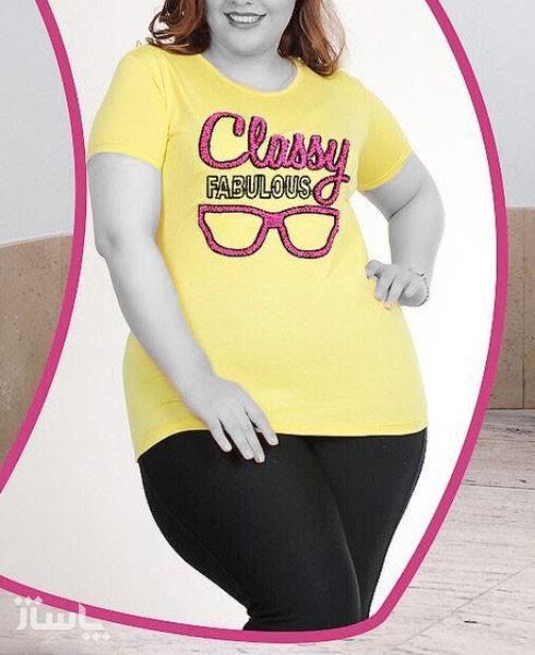 تی شرت قواره دار عینک-تصویر اصلی