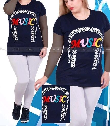تی شرت قواره بزرگ music-تصویر اصلی