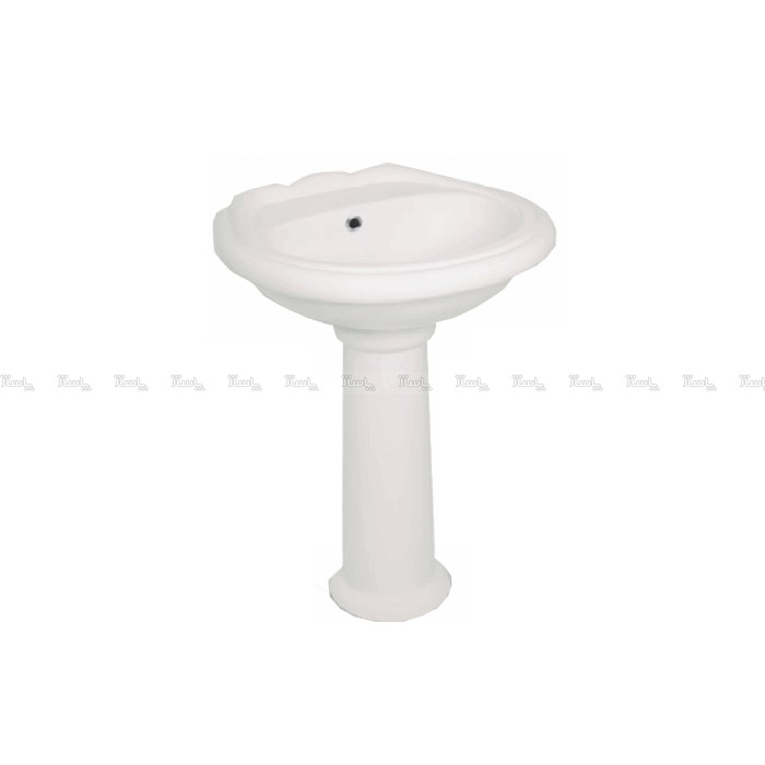 روشویی پارس سرام مدل بریستول (42 * 53)-تصویر اصلی