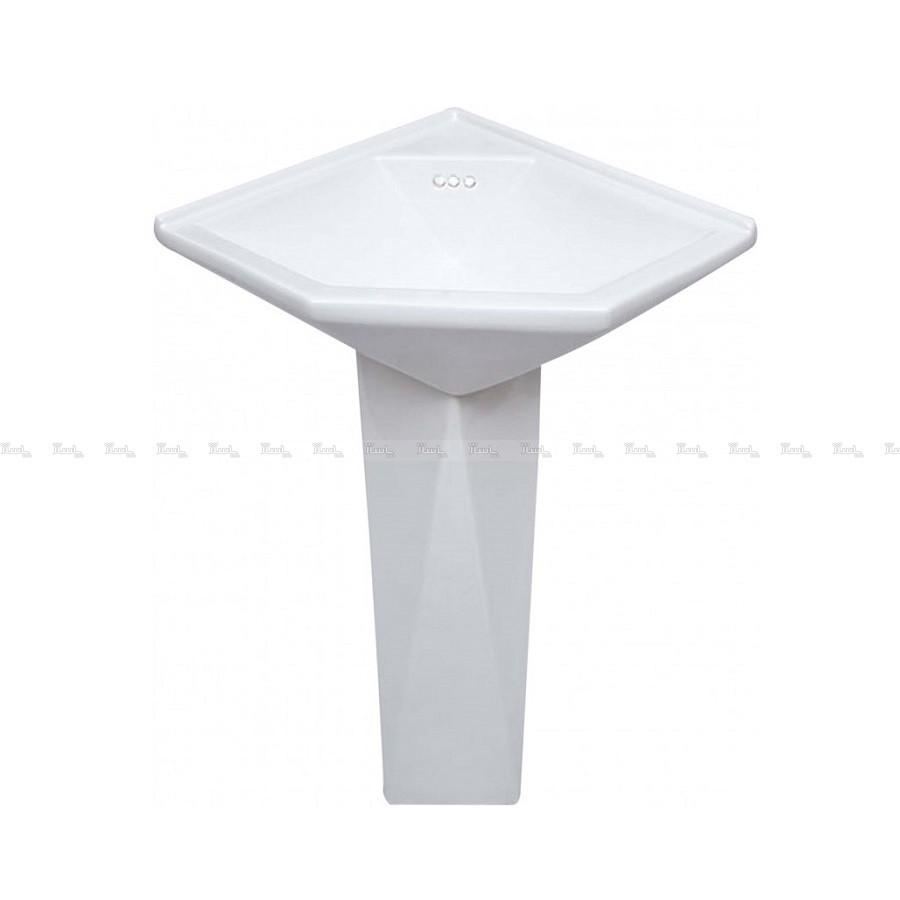 روشویی پارس سرام مدل کنج دیاموند (45 * 50)-تصویر اصلی