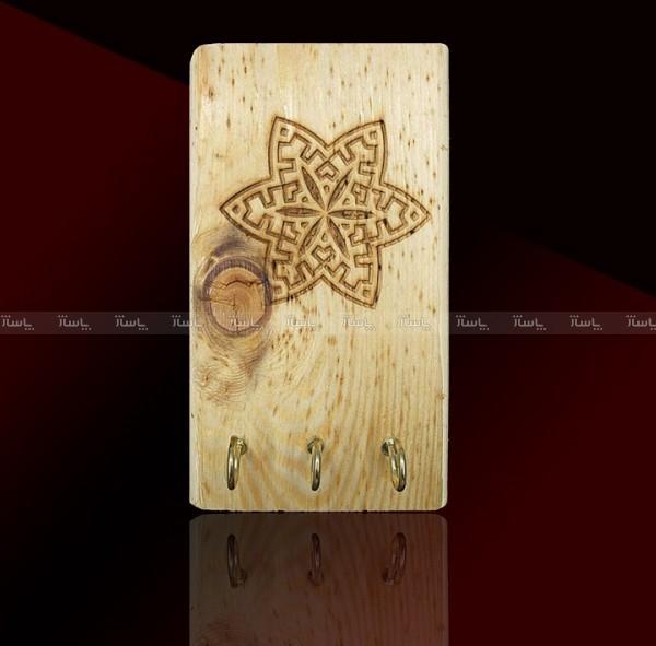 جاکلیدی دیوارکوب چوبی-تصویر اصلی