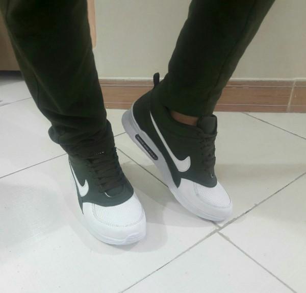 کفش مردانه نایک سبز و سفید-تصویر اصلی