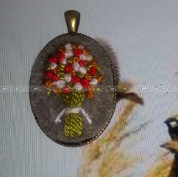 گردنبند گلدوزی-تصویر اصلی