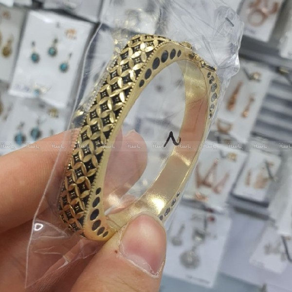 دستبند طرح طلا سیاه قلم-تصویر اصلی