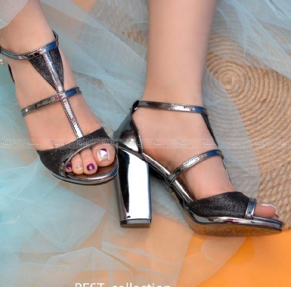 کفش مجلسی لمه پاشنه 9 سانتی-تصویر اصلی