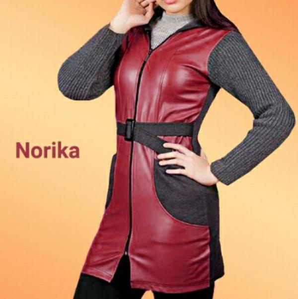 مانتو پاییزه Norika-تصویر اصلی