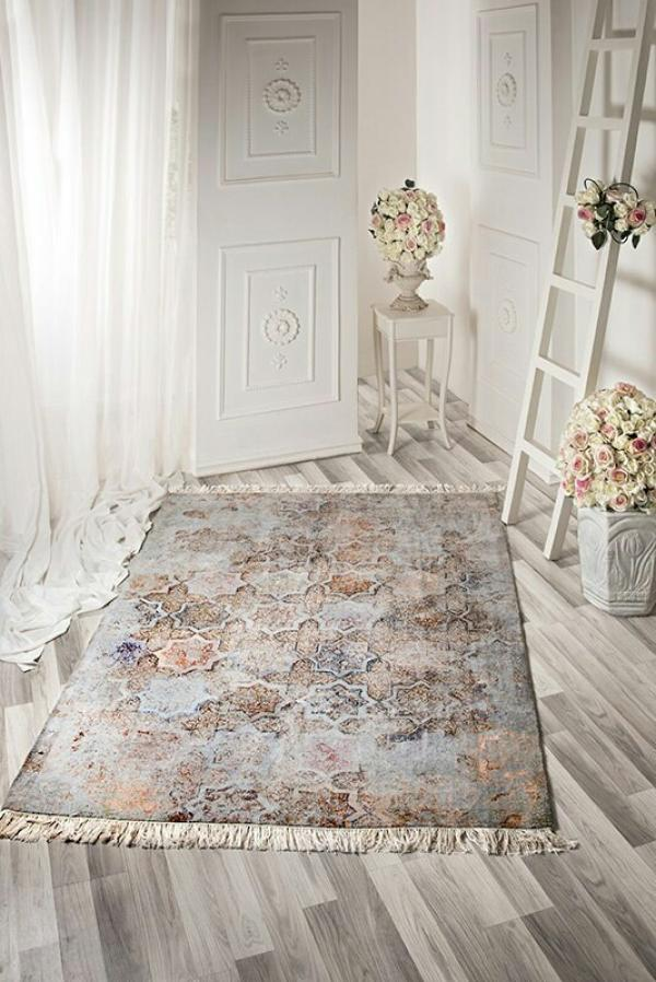 فرش زیر پایی دستباف  هشت بهشت-تصویر اصلی