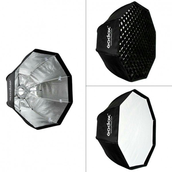 اکتاباکس زنبوری۸۰ سانتی Octa softbox Grid-تصویر اصلی