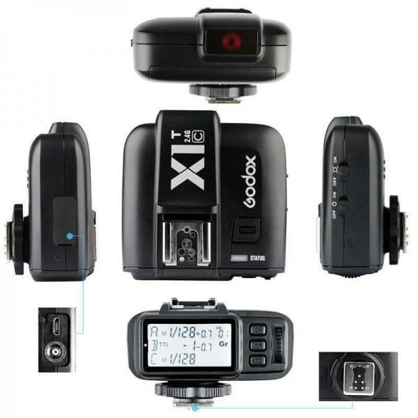 فلاش تریگر  بی سیم مخصوص دوربین نیکون GODOX X1 N TTL-تصویر اصلی
