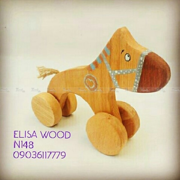 سگ چوبی چرخ دار-تصویر اصلی