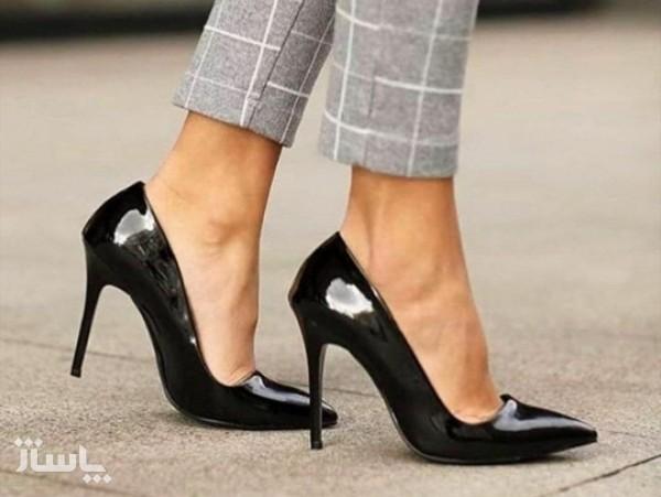 کفش مجلسی زنانه پاشنه بلند مدل لودشگا-تصویر اصلی