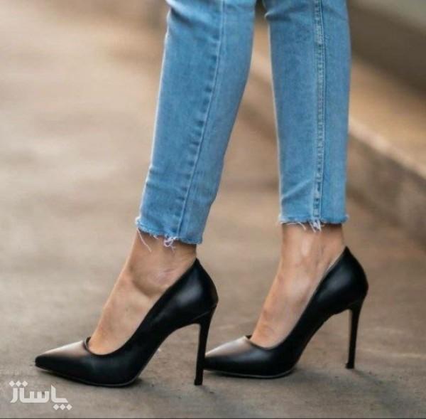 کفش زنانه مجلسی پاشنه بلند مدل لودشگا-تصویر اصلی