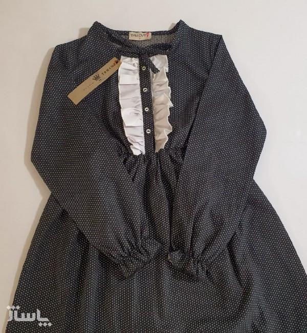 پیراهن مشکی دخترانه-تصویر اصلی