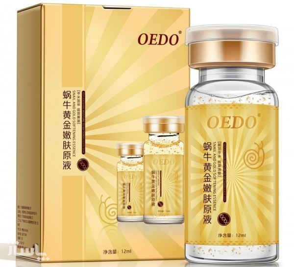 اسنس ضدچروک قوی حلزون و طلا oedo-تصویر اصلی